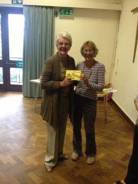 Jean Gowing: Winner: 3 Runner beans of same size